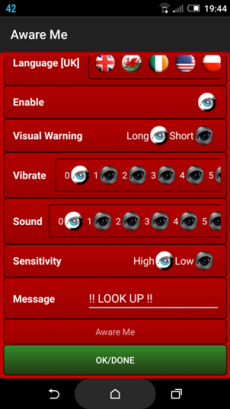The Settings Screen